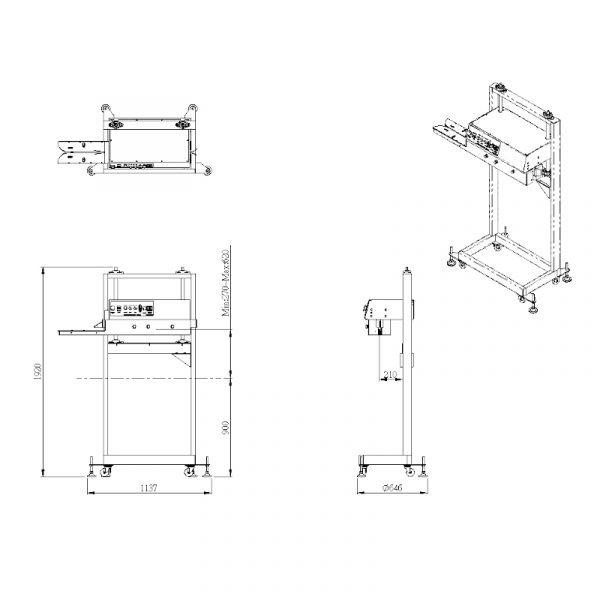 image product Postpack Doypack - Pouch - Bag sealers SV30UH