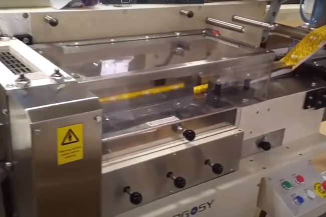 imagen previa video producto Postpack envasadora Flowpack