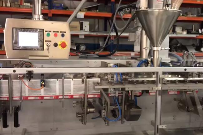 imagen previa video producto Postpack envasadora horizontal MH-140